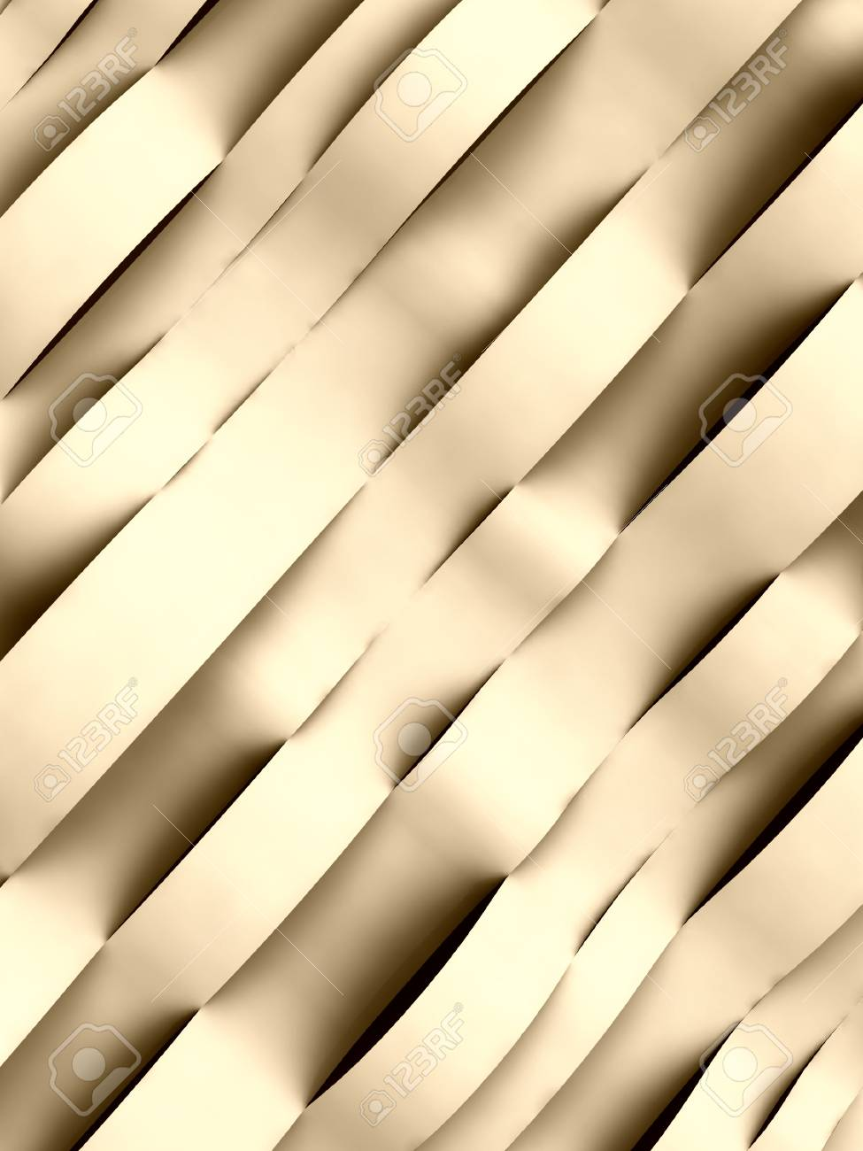 diagonally wave sepia alighted abstract cool surface card background illustration Stock Illustration - 15793438