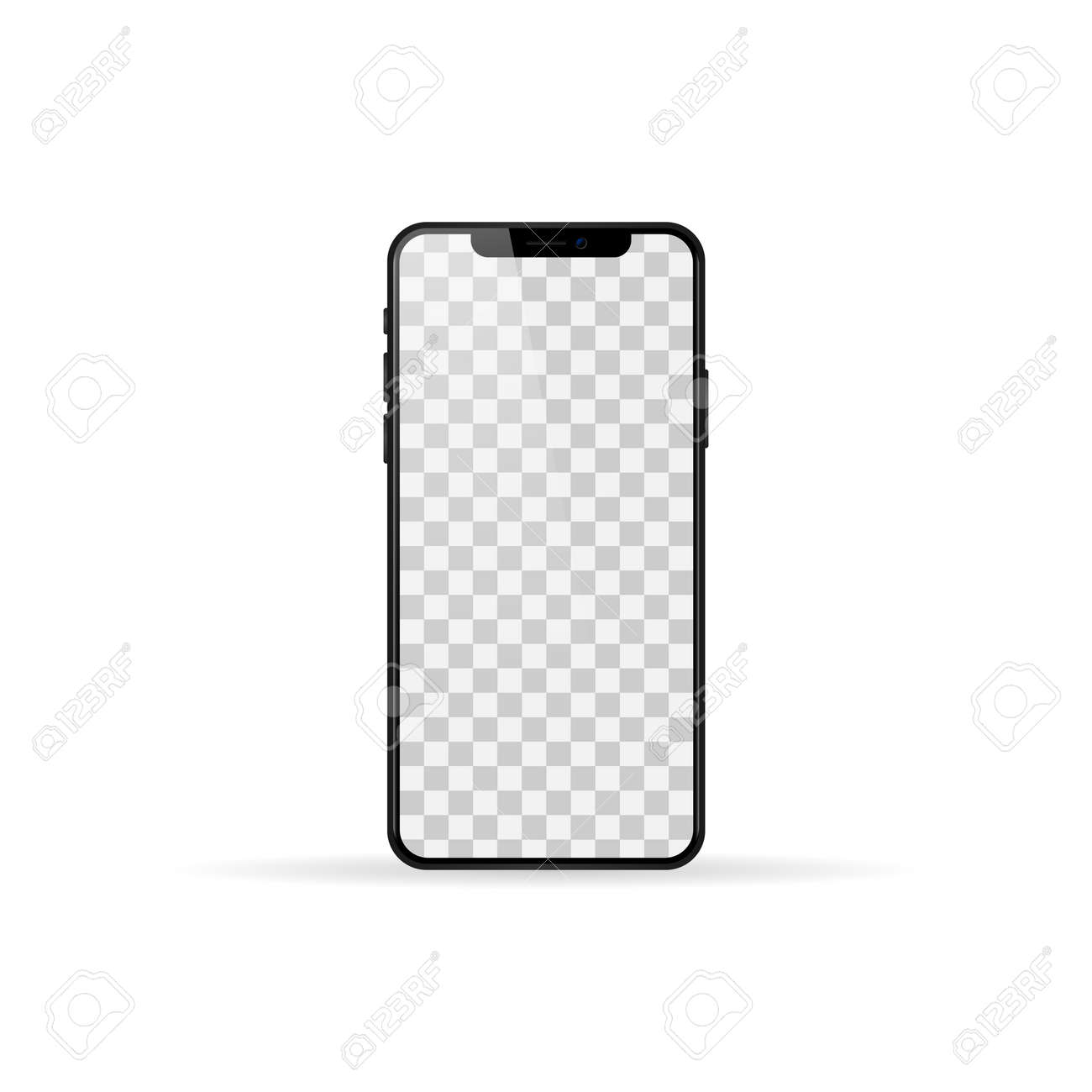 Mockup smartphone pro screen. - 169325542