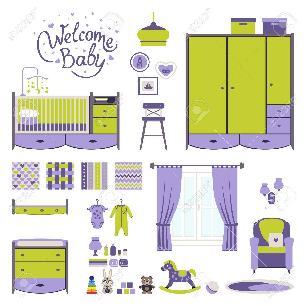 Perfecto Muebles Para El Bebé Vivero Regalo - Muebles Para Ideas de ...