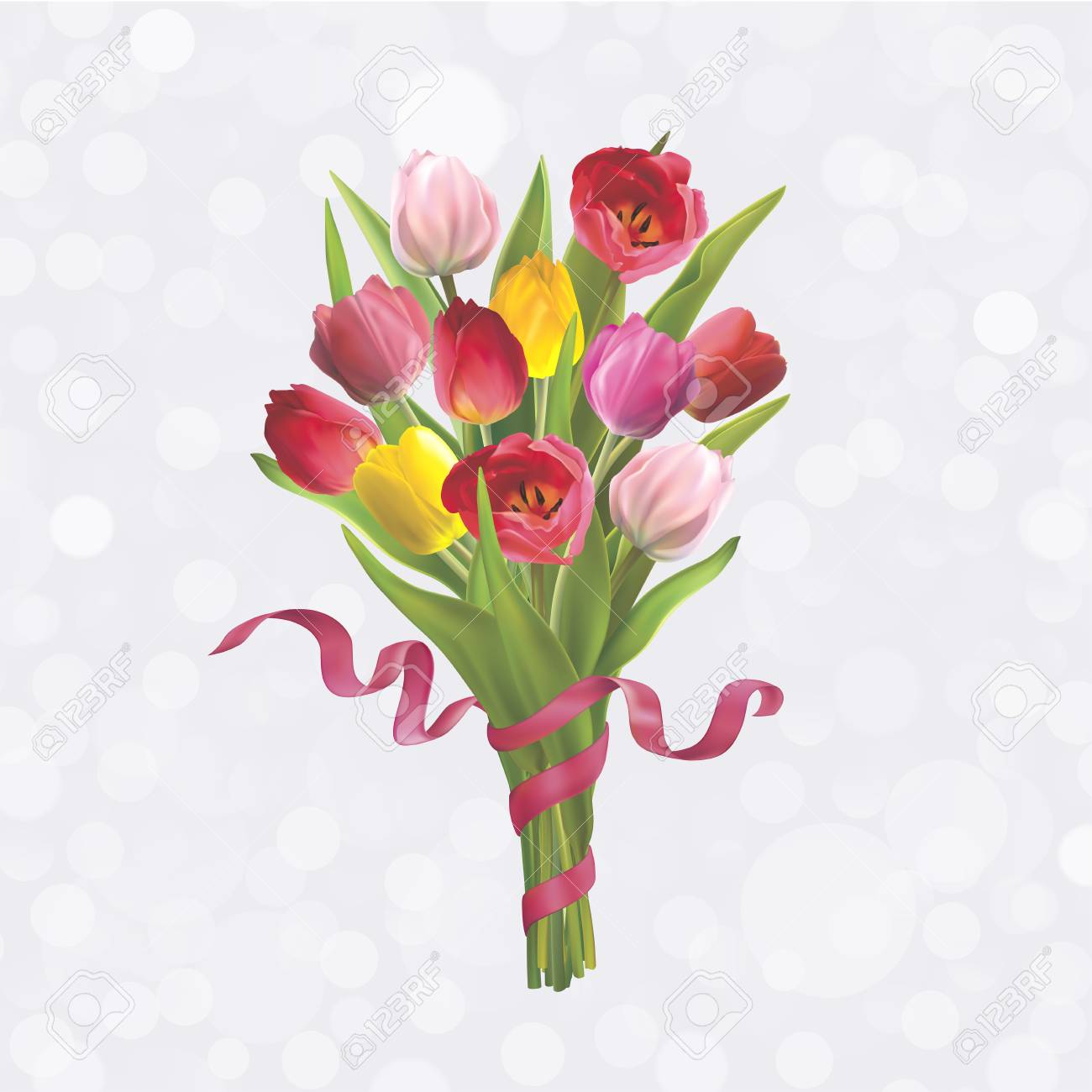 Beautiful bouquet of colorful tulips background for postcard beautiful bouquet of colorful tulips background for postcard on 8 march mothers day izmirmasajfo
