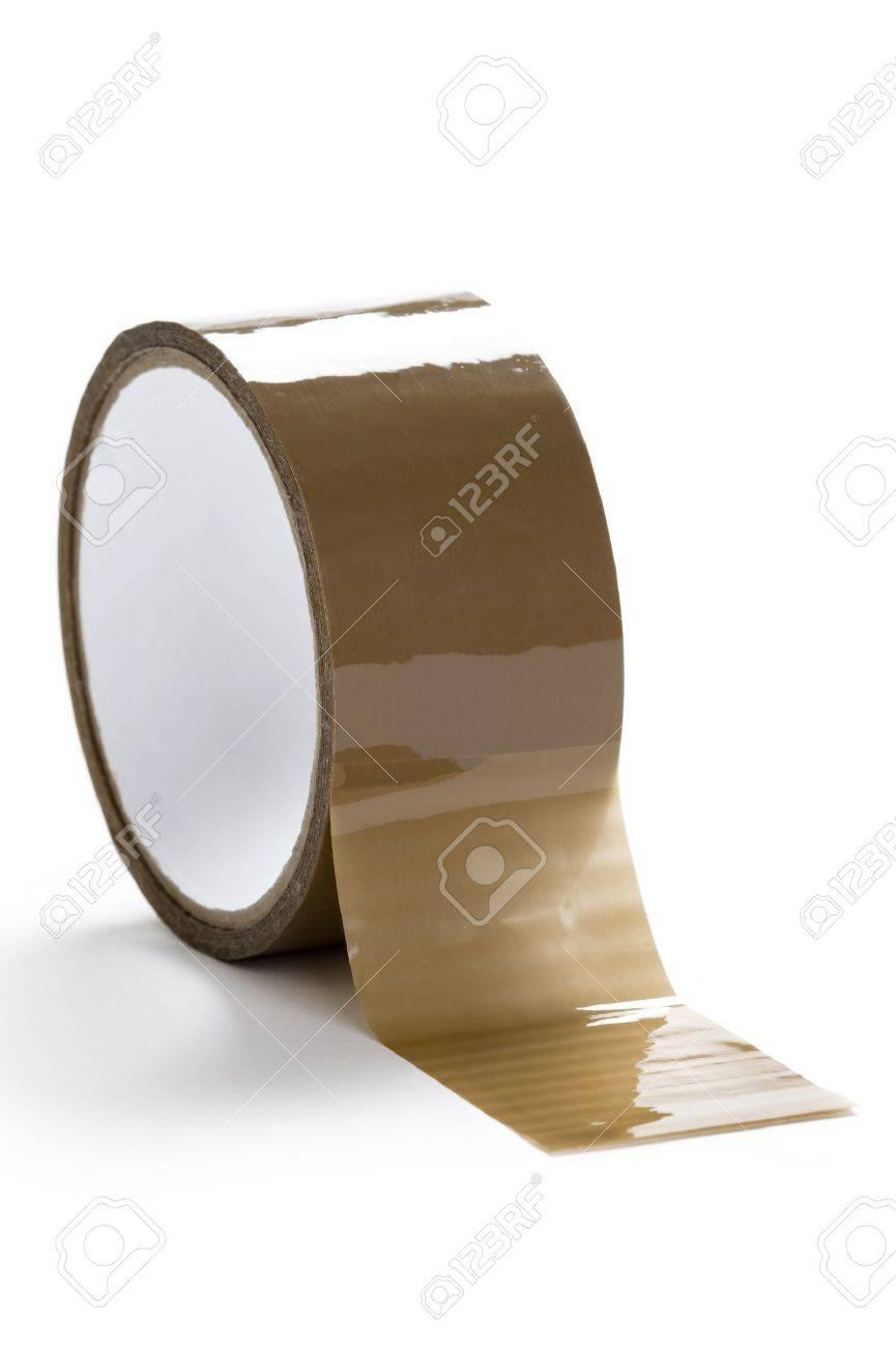 paketklebeband auf weißem hintergrund lizenzfreie fotos, bilder und