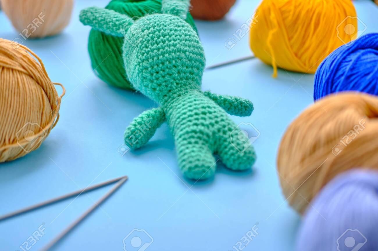 Amigurumi Crochet Blue Bunny Free Pattern - Amigurumi Free ... | 866x1300
