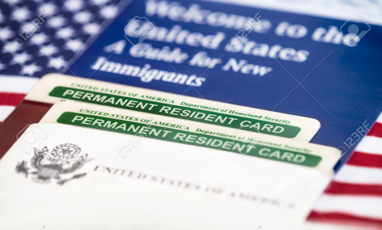 Permanent 33888462 Stock Image And Of United Photo States Green Card Picture America Image Resident Free Cards Royalty