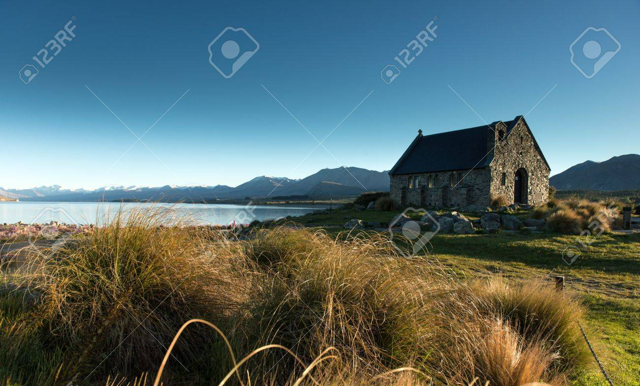 Lake Tekapo  South Island, New Zealand Stock Photo - 17190438
