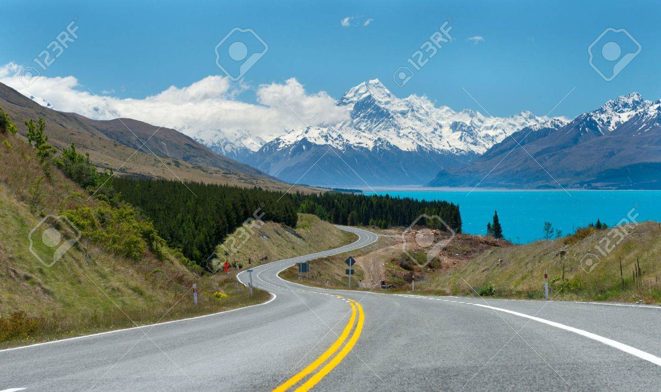 Mt.Cook South Island, New Zealand. Stock Photo - 17190440