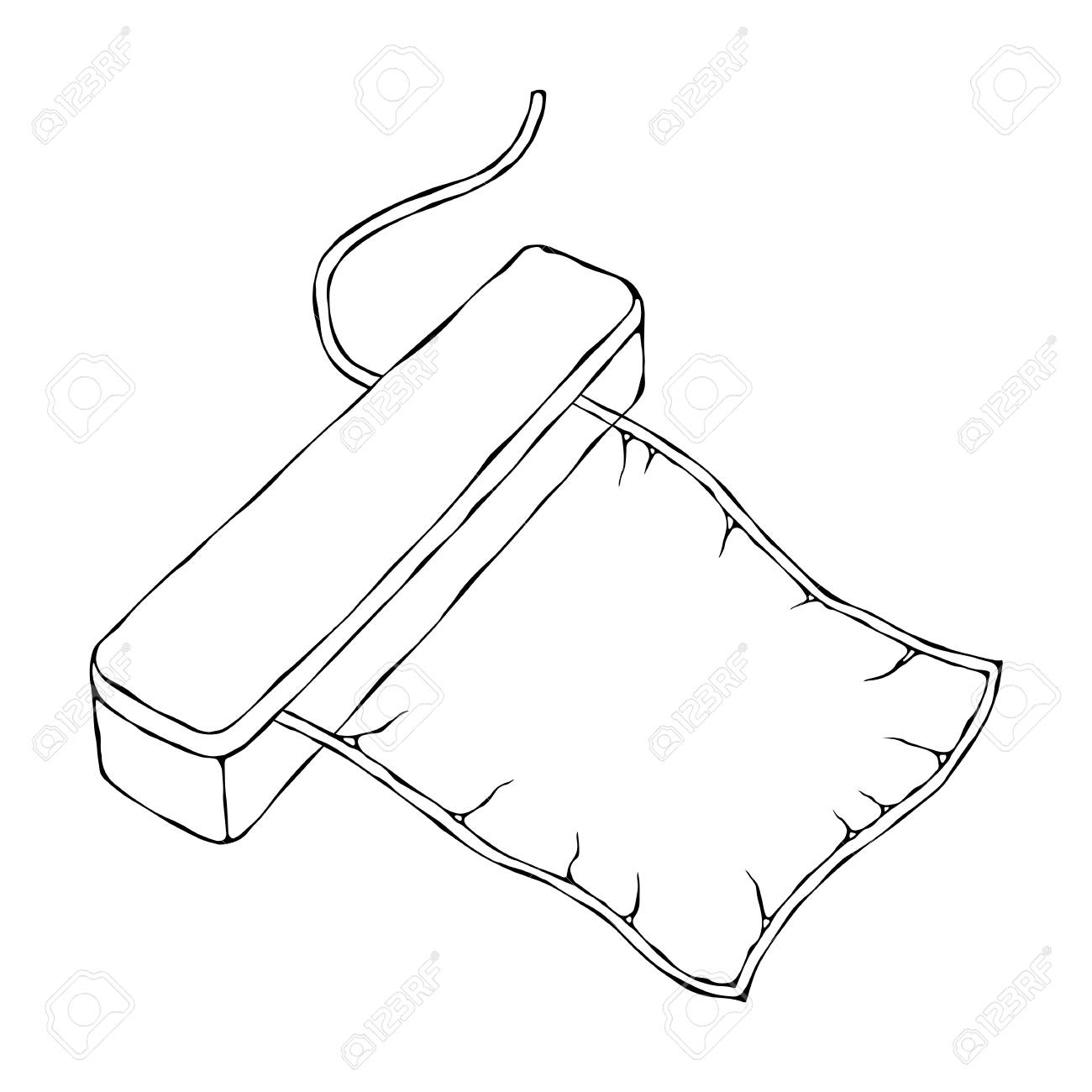 Vacuumizer Food Sealer with Vacuum Bag. What is Sous-Vide. Slow Cooking Technology. Perfect Food. Chief Cuisine Collection. EPS10 Vector. Hand Drawn Doodle Style Realistic Illustration - 126910596