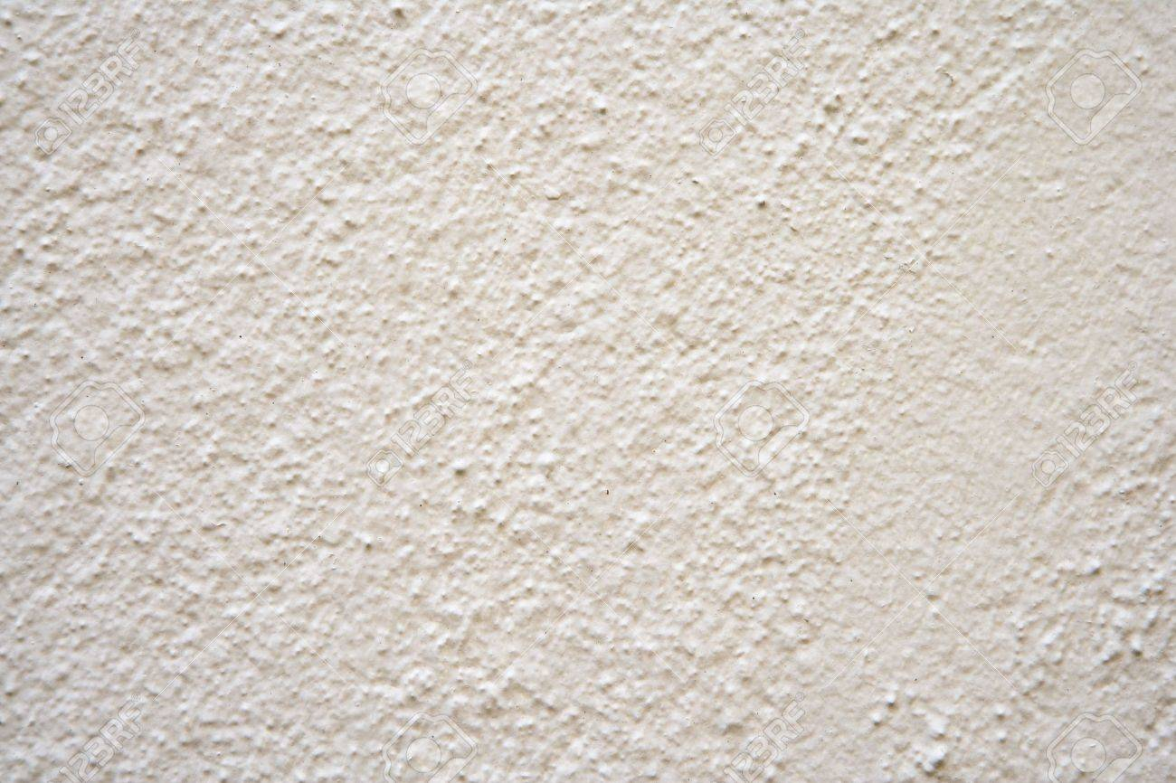 Enduit Blanc Mur Exterieur white painted rugged, plastered wall