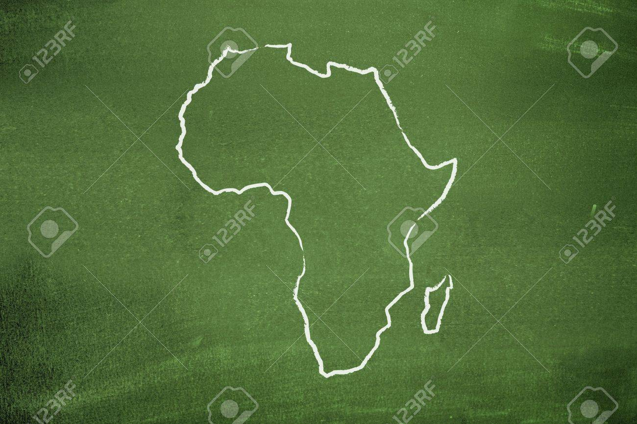 African map Stock Photo - 8536181