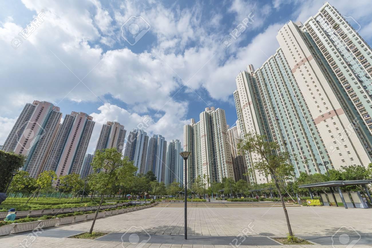 public estate in Hong Kong - 76320254