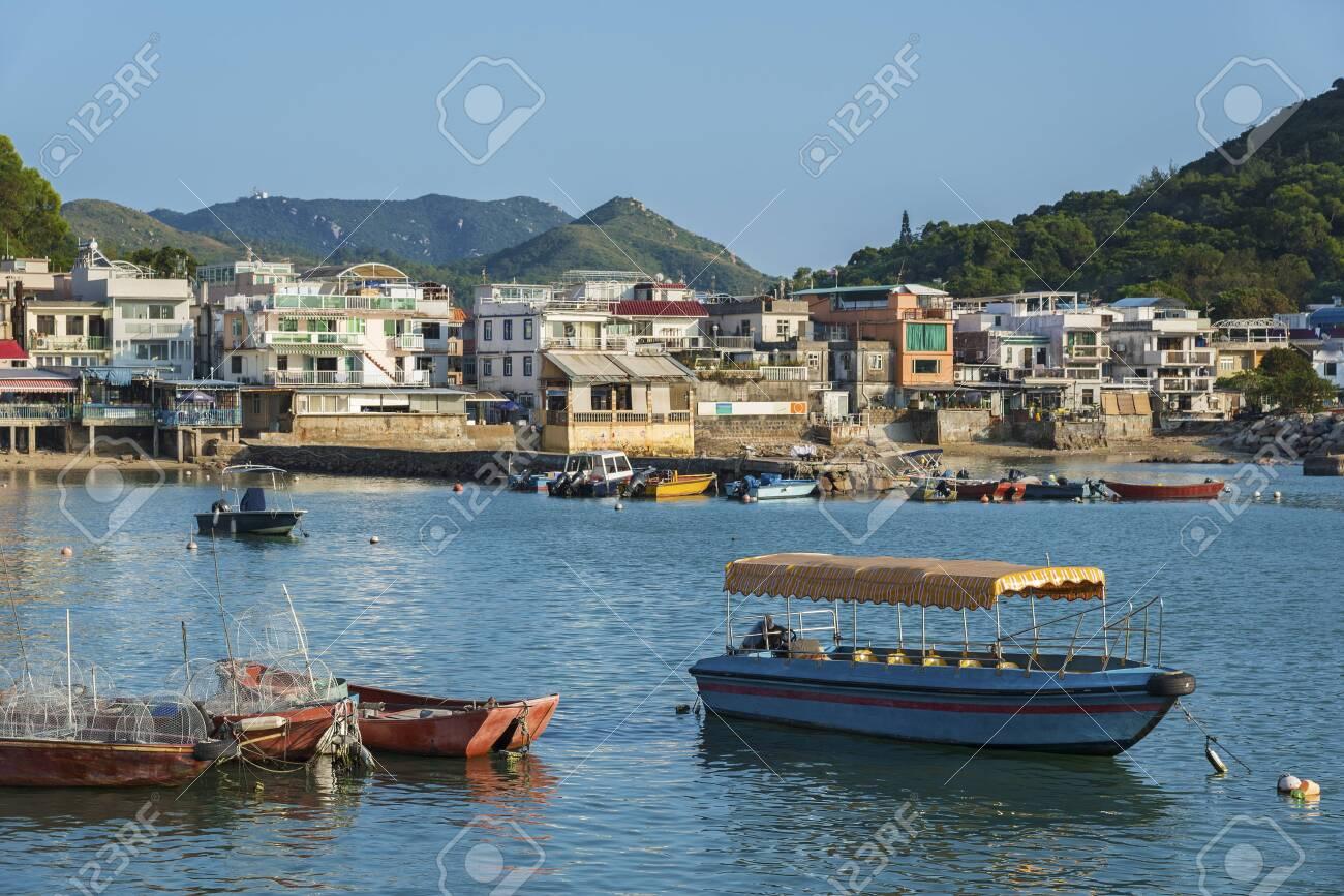 Lamma Fisherfolk's Village in Sok Kwu Wan on Lamma Island in Hong Kong - 118624580