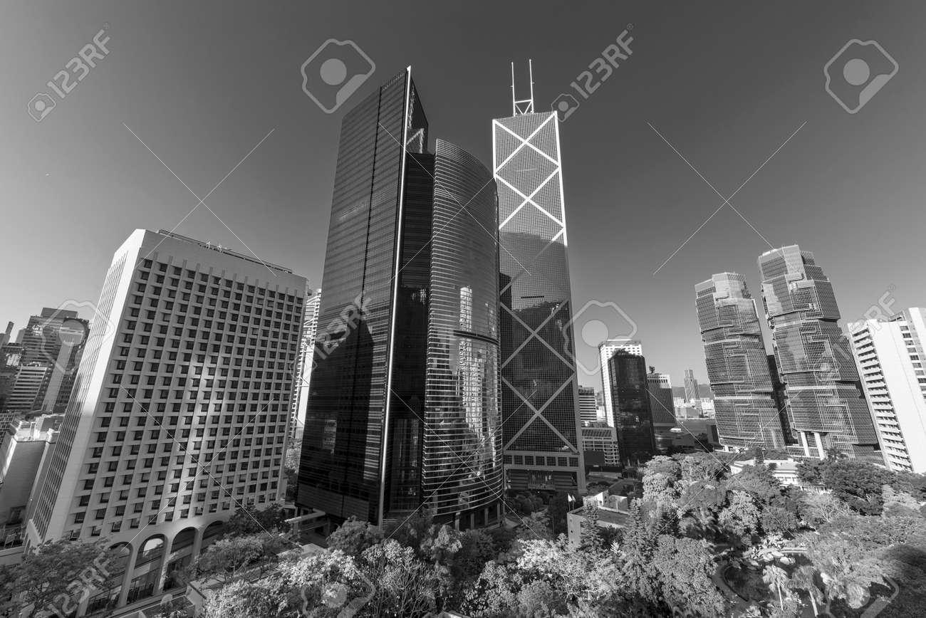 Skyline of Hong Kong city - 171283954