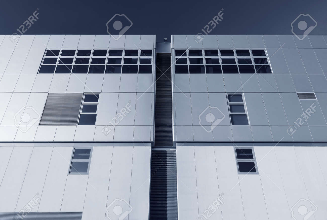 Exterior of modern architecture. Building abstract background - 171896072