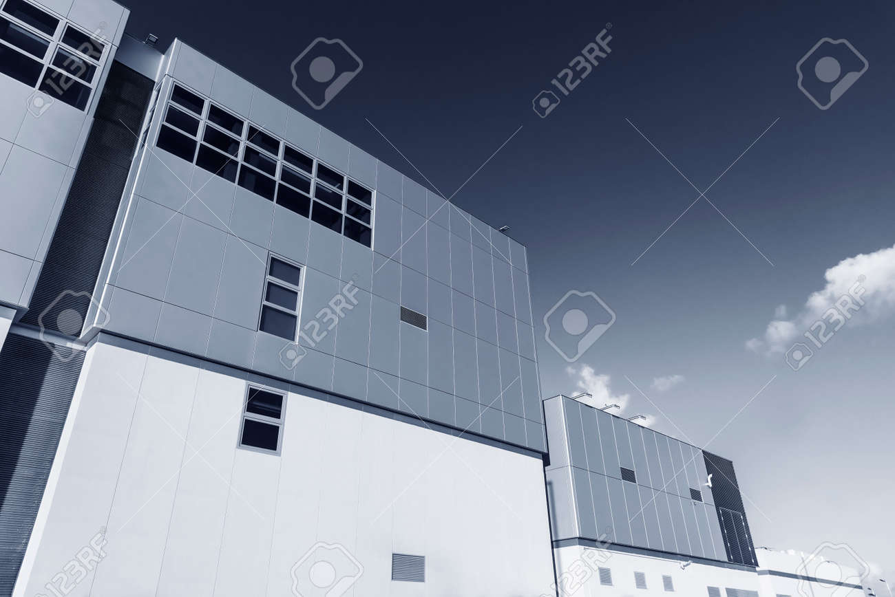 Exterior of modern architecture. Building abstract background - 171849954