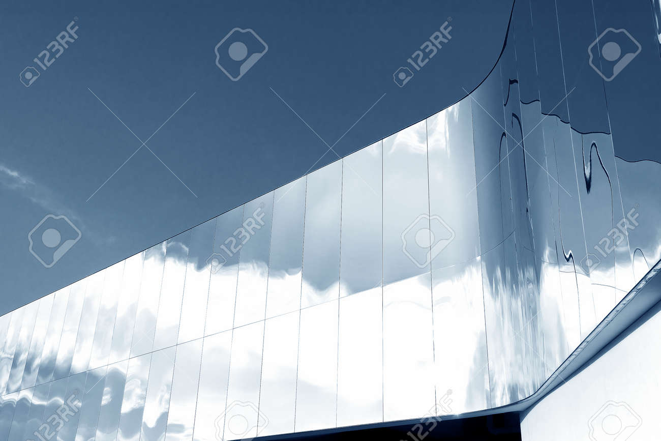 Exterior of modern architecture. Building abstract background - 171849917