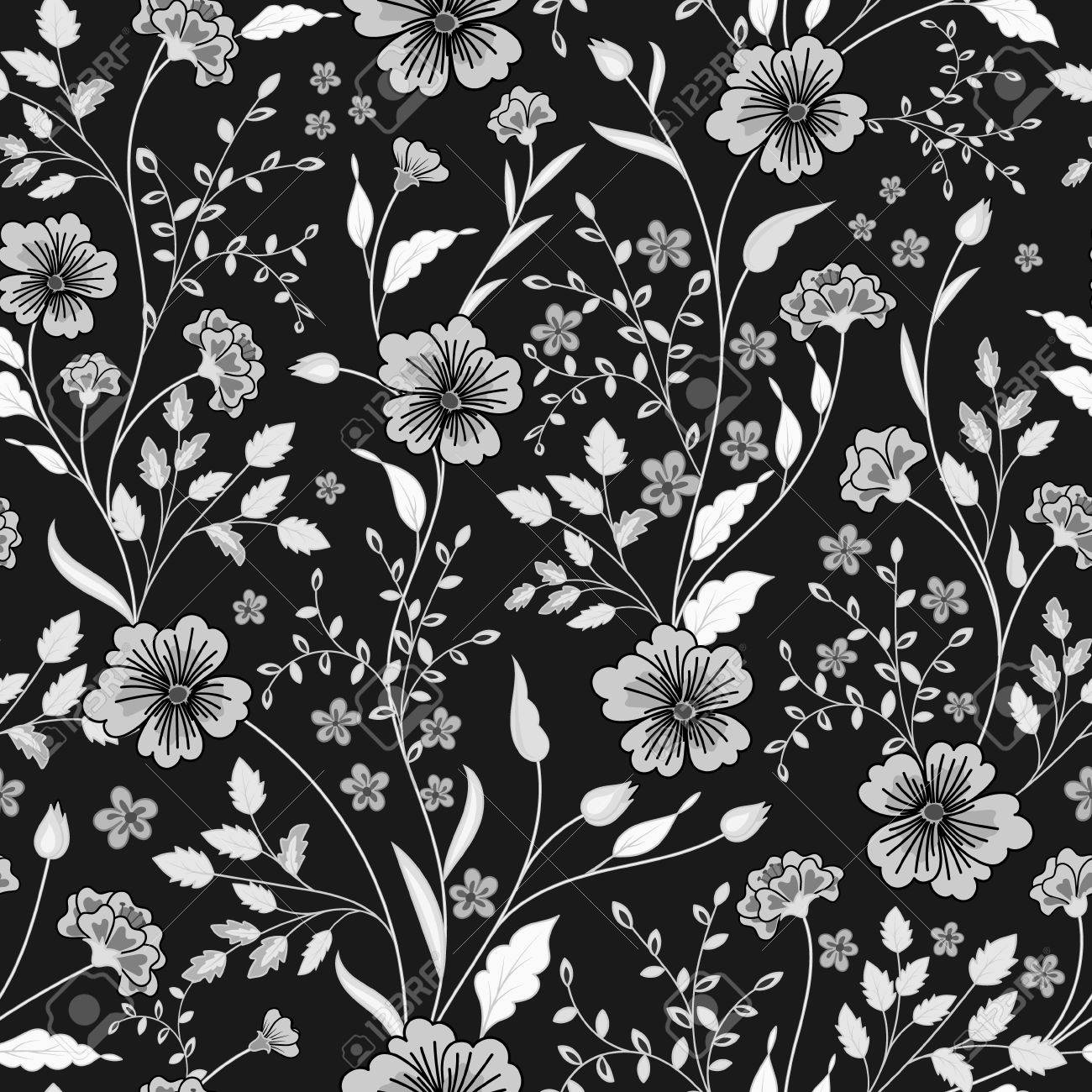 Black And White Pictures Of Flowers To Print