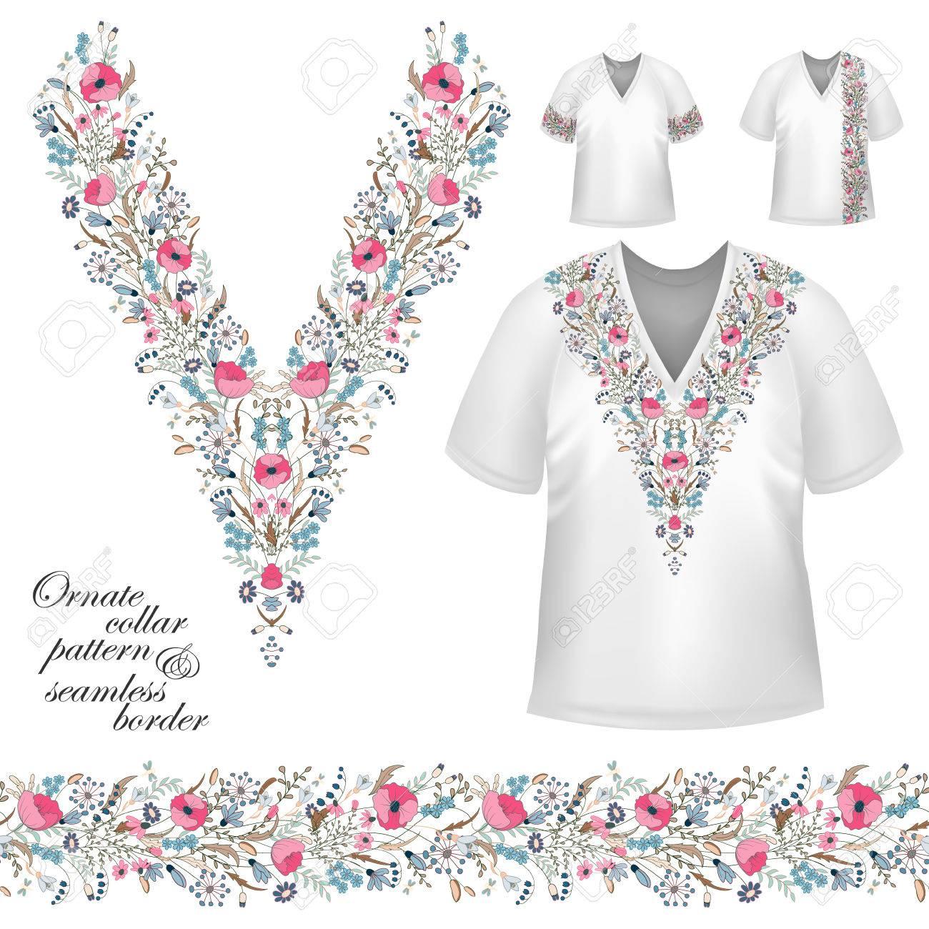 110aa20723f4c Foto de archivo - Vector de diseño de camisas de cuello