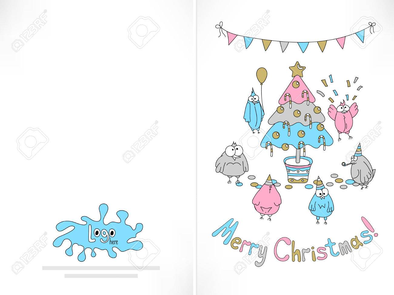 image relating to Funny Printable Christmas Cards named Prepared in direction of print Xmas card. Humorous birds amassed more than the..
