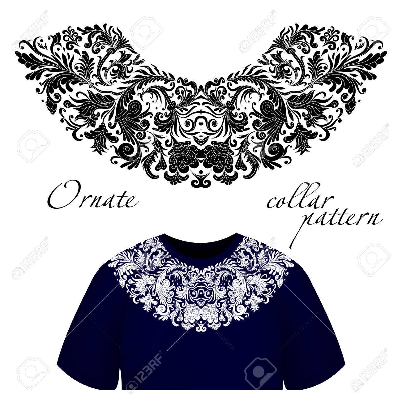 Diseño Artístico Del Vector Para Las Camisas Del Collar 759f2ce22dea2
