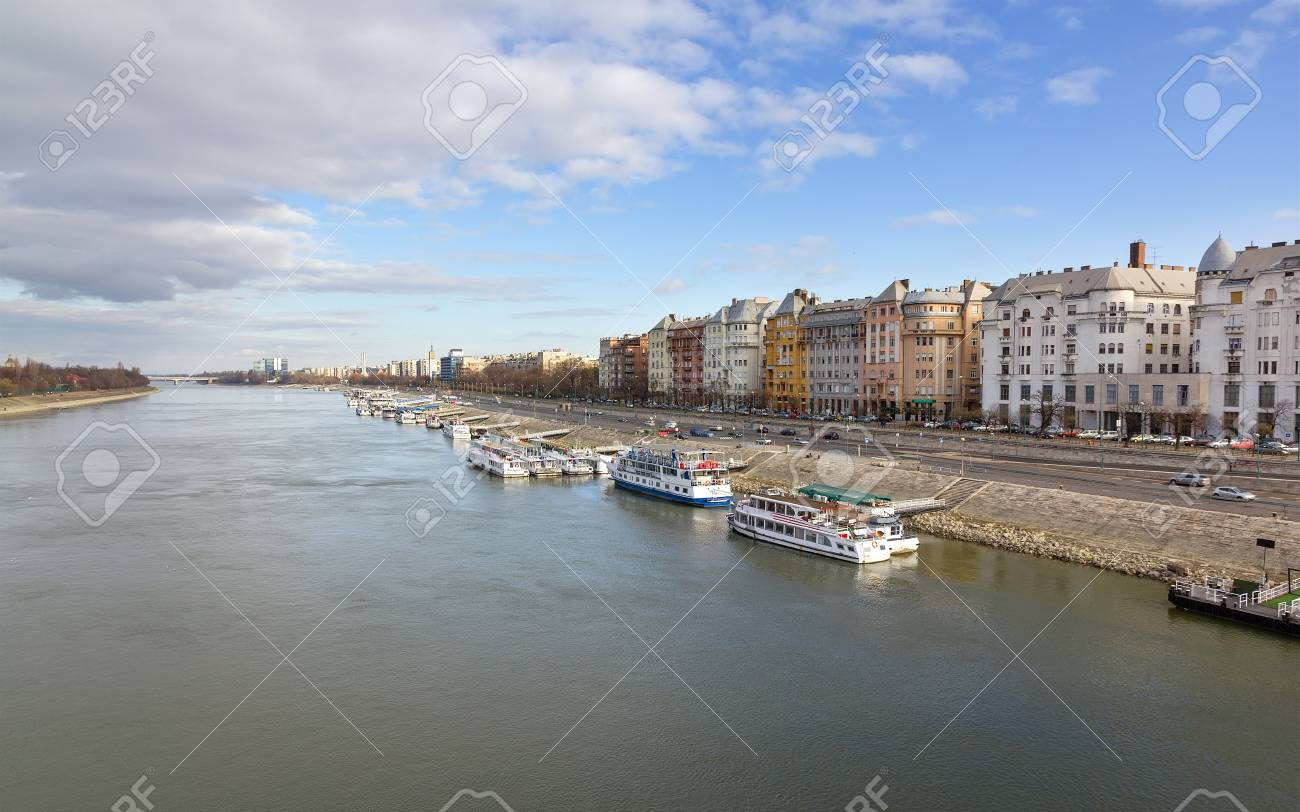 Danube and Budapest view, Hungary Stock Photo - 15328643