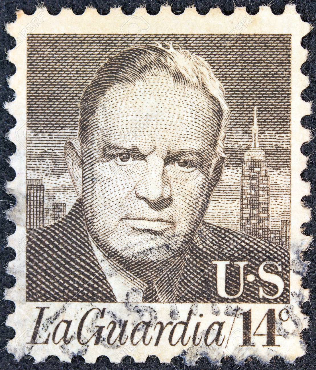 USA - CIRCA 1972: A stamp printed in USA from the