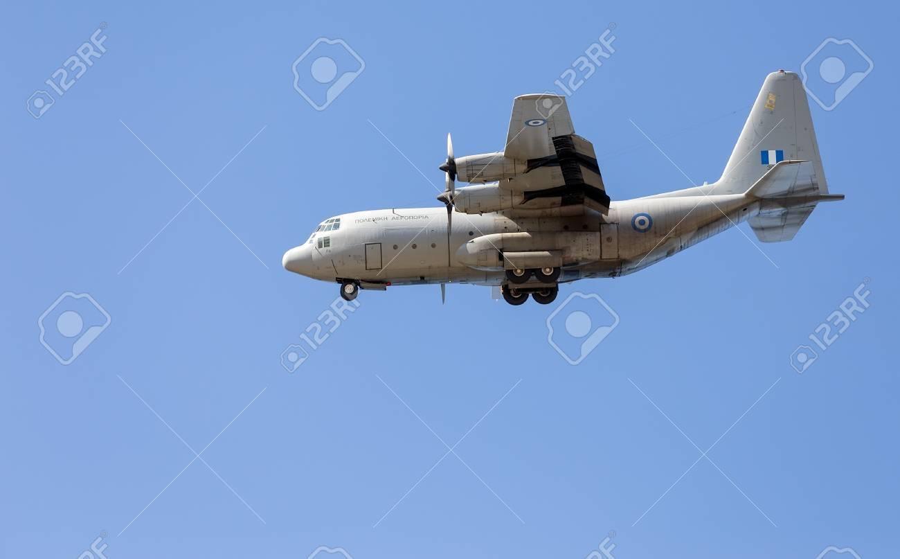 HAF Alenia C 27J Spartan medium sized transport aircraft in flight