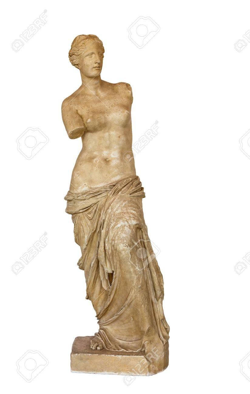 Venus de Milo statue isolated Stock Photo - 21160946