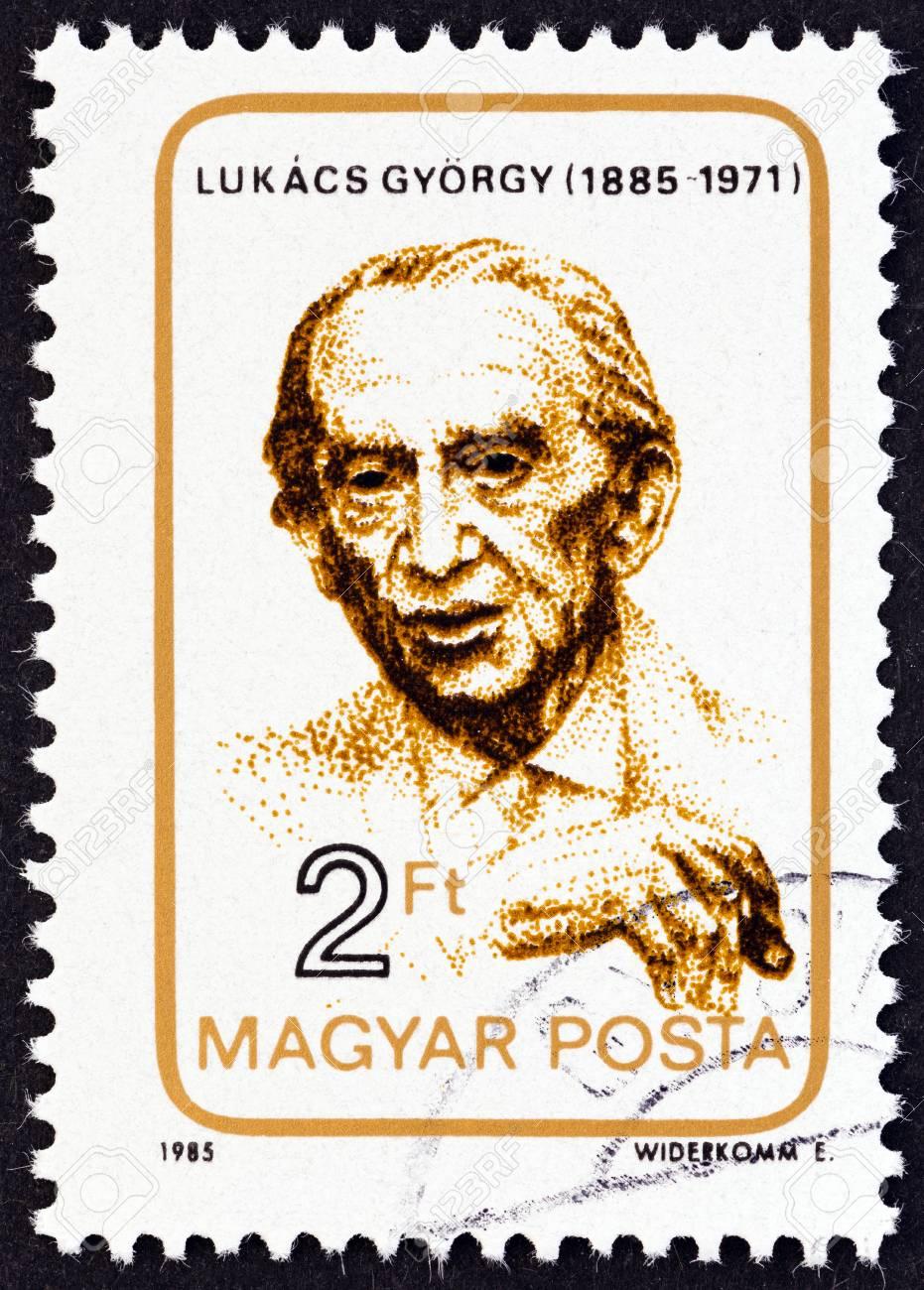ハンガリー年頃 1985年: ジェルジ ・ ルカーチの誕生 100 周年に発行 ...