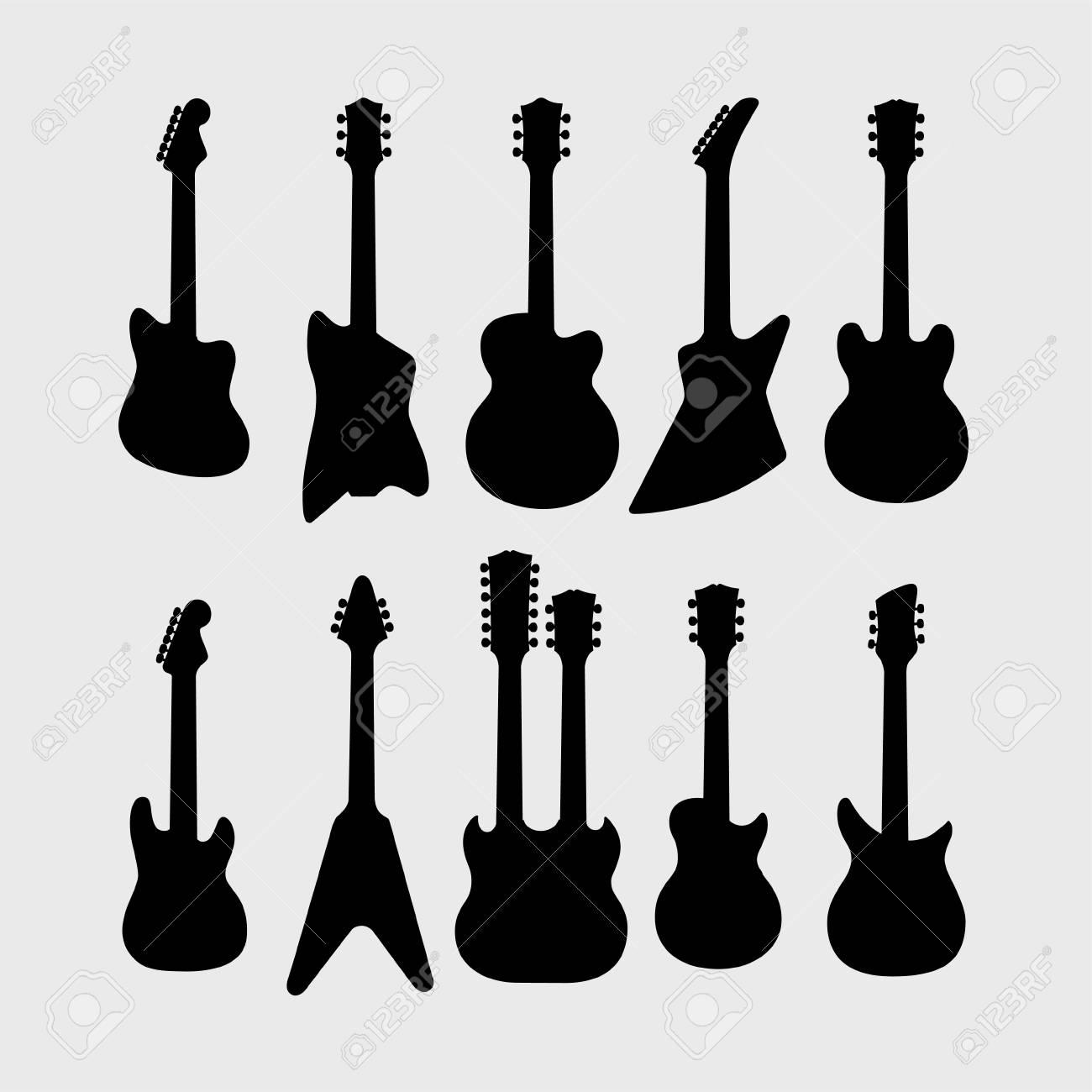 エレキギター イラスト