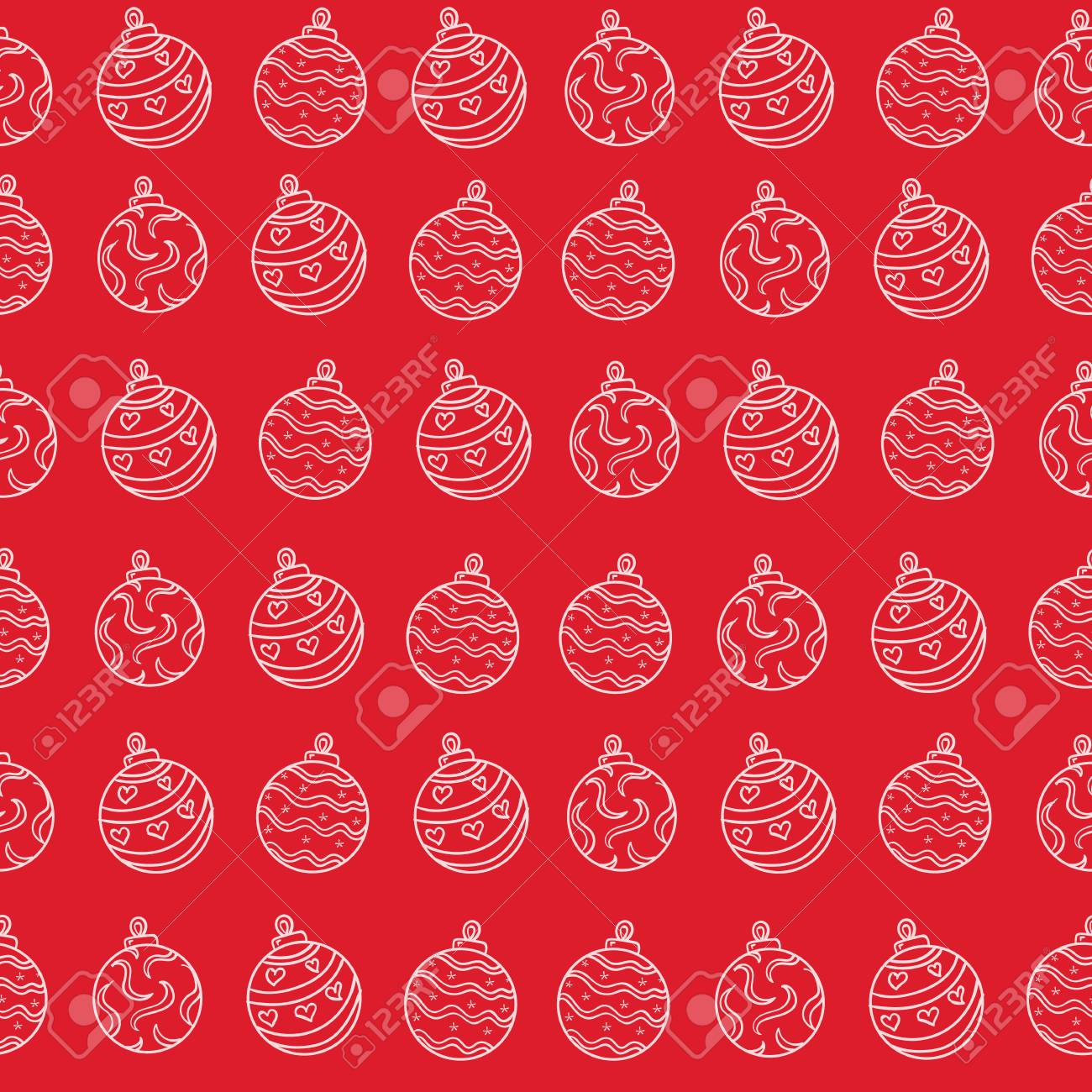 Christmas Texture.Merry Christmas Texture On Red Background