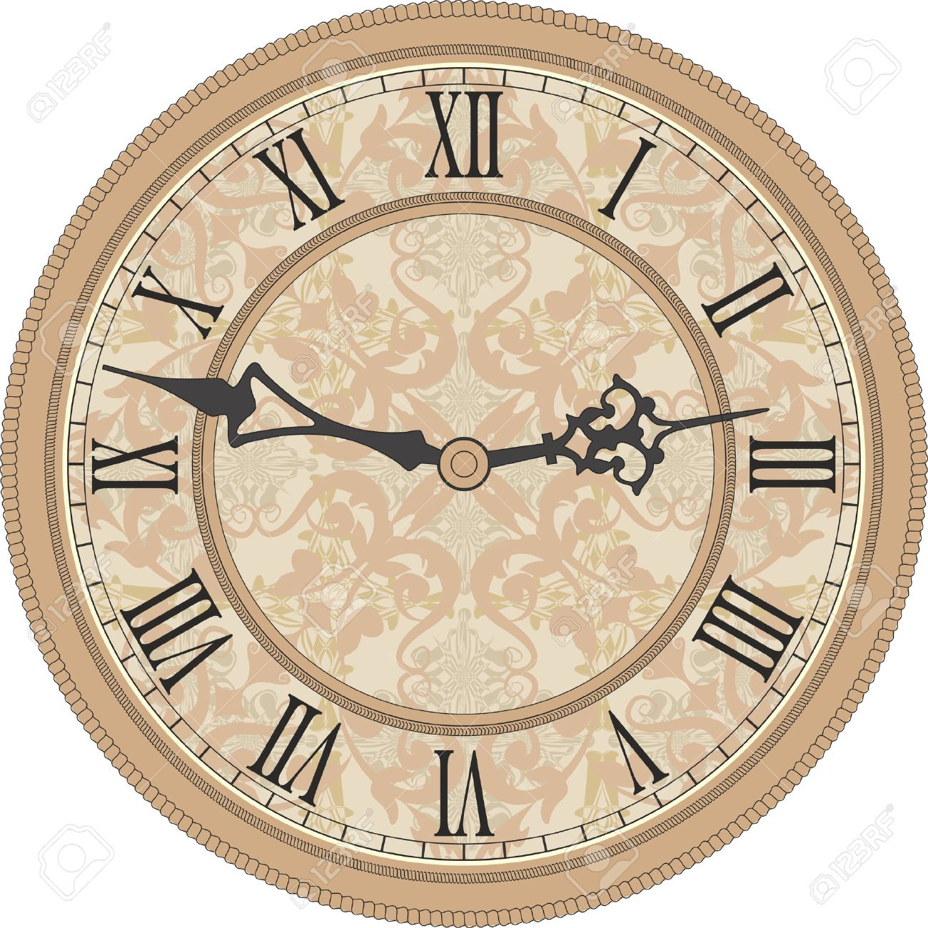 24078 Wall Clock Stock Illustrations Cliparts And Royalty Free