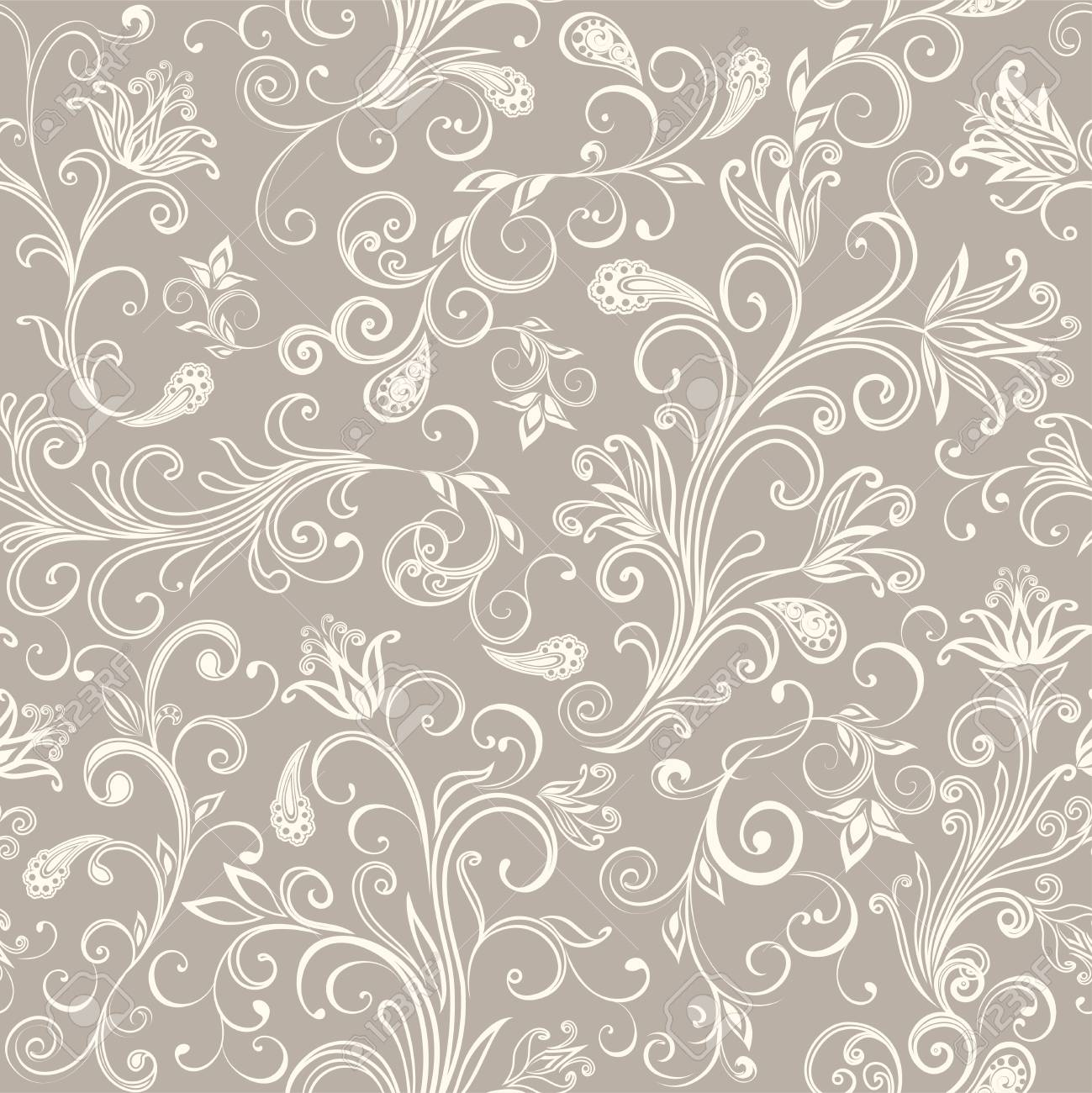 Seamless pattern in ethnic traditional style. - 121437517