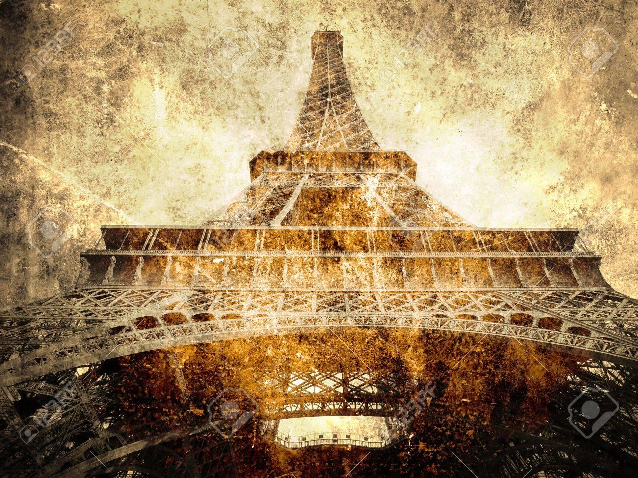 Paris symbol- Eiffel tour Stock Photo - 11571635