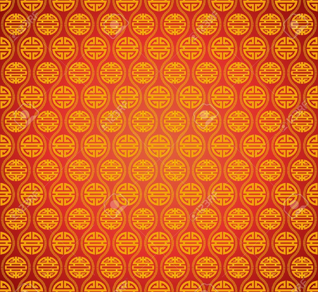 Vector Abstract Chinese Classical Style Background With Lucky