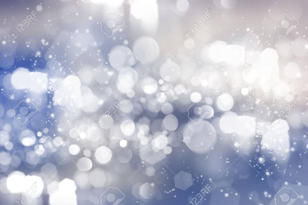 Abstract background of holiday lights Stock Photo - 6529830