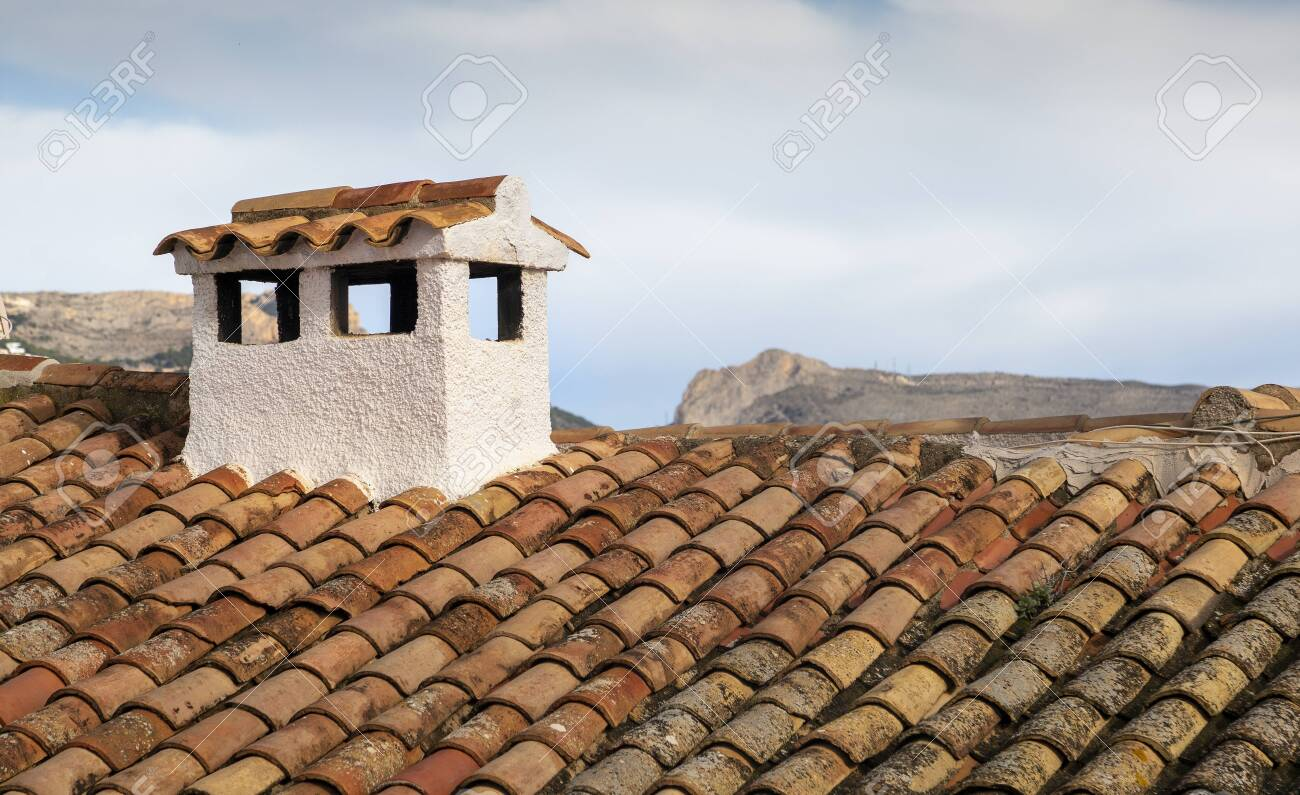 Typical Spanish Roof Covered In S Style Terracotta Clay Roof Stock Photo Picture And Royalty Free Image Image 137503249