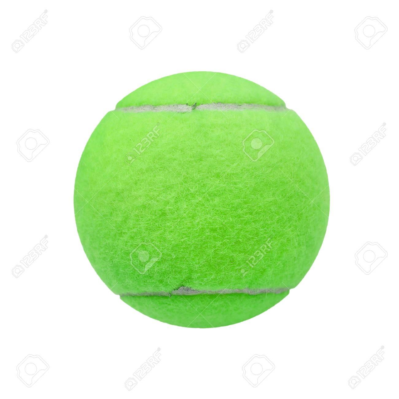 798ca332cb5e4 Banque d'images - Exotique verte balle de tennis de couleur isolé sur fond  blanc