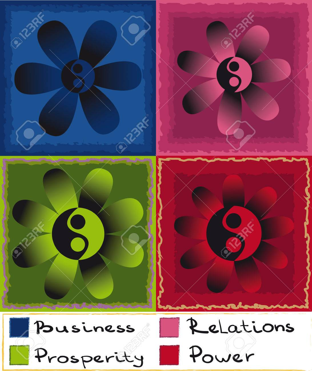 feng shui business colors