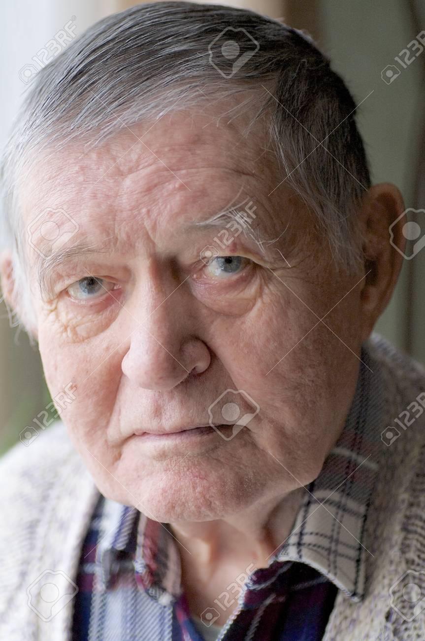 senior looks at camera Stock Photo - 18765659