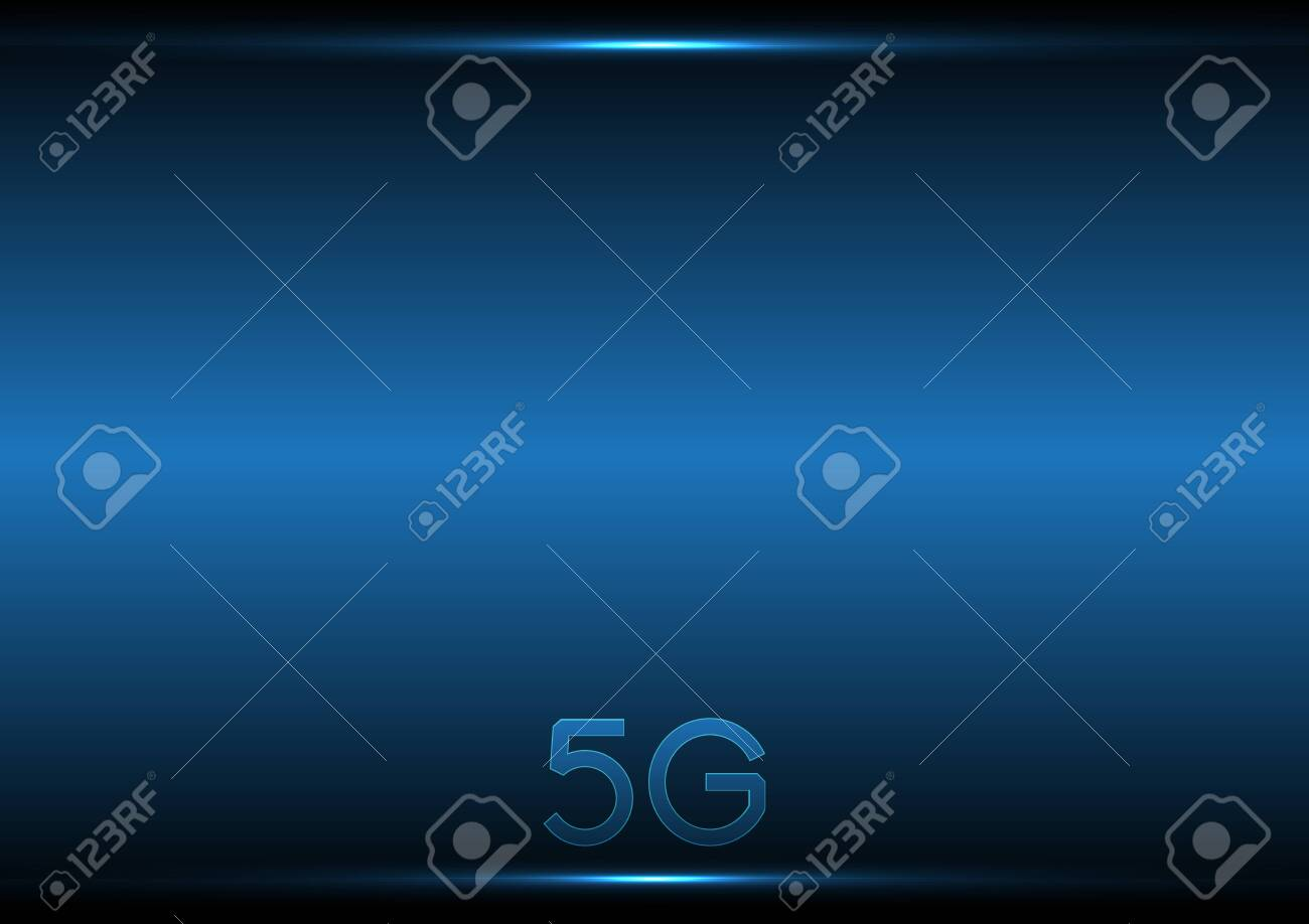5G technology abstract background - 142414358