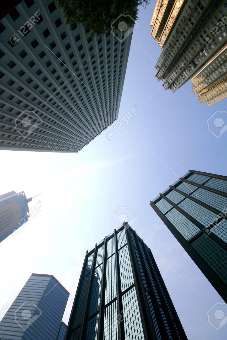 Concrete jungle at Hong Kong Stock Photo - 13746482