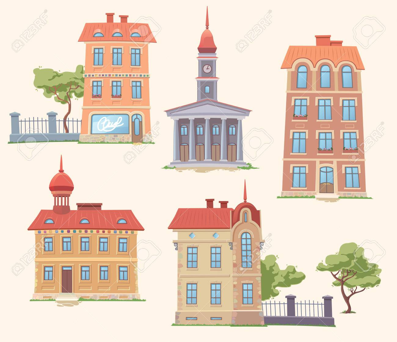 Small Apartment Building Stock Photos  Pictures Royalty Free - Small apartment buildings