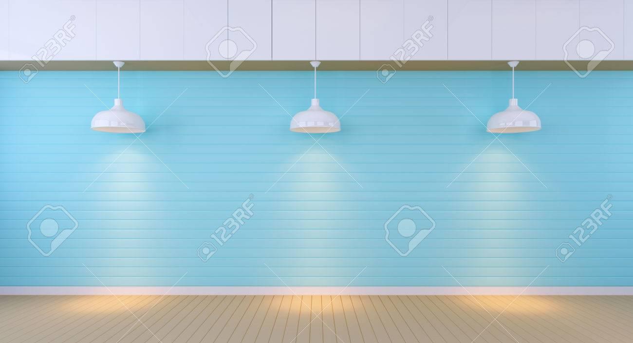 の 部屋 水色