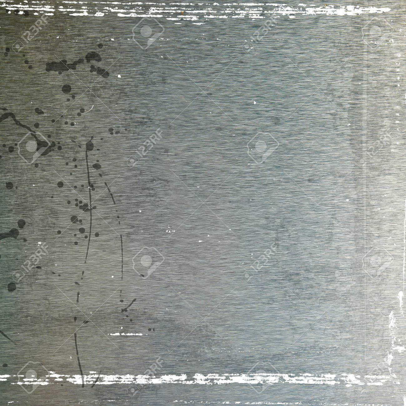 Brushed metal texture, grunge background Stock Photo - 14723385