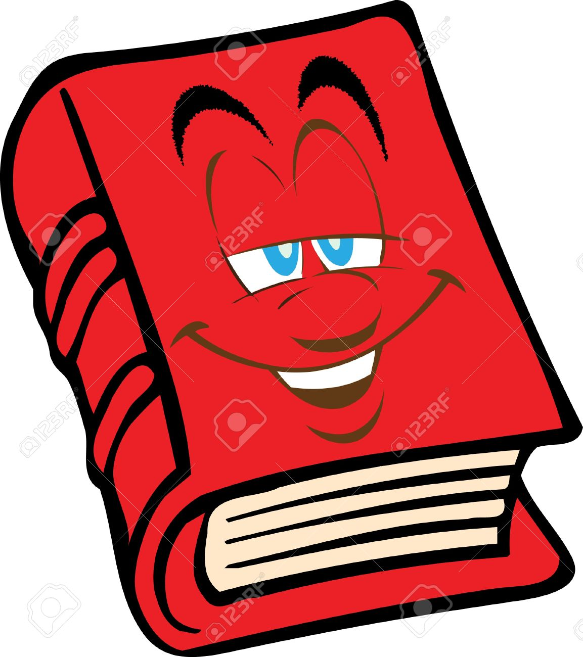 red book with the face royalty free cliparts vectors and stock rh 123rf com Laughing Smiley Face Clip Art Winking Smiley Face Clip Art