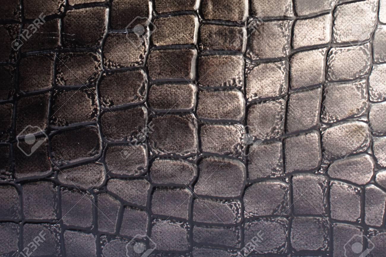 Dark leather background Stock Photo - 10075269