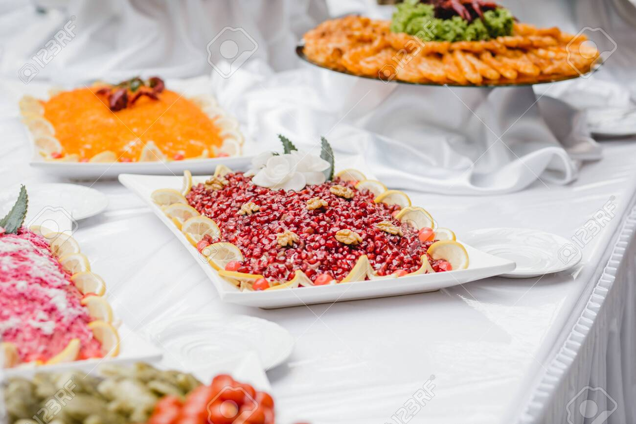 catering wedding buffet for events - 138176583