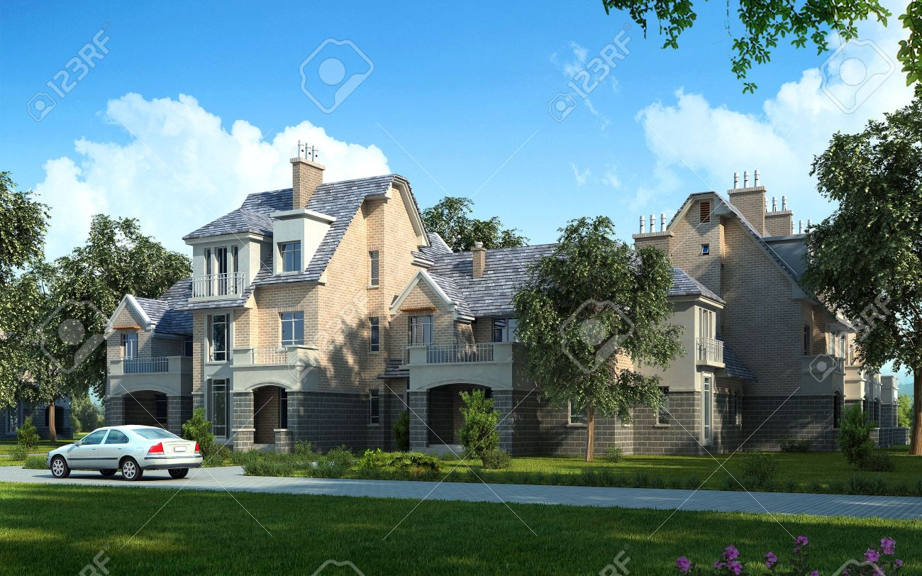 Luxury House And Car luxury homes stock photos & pictures. royalty free luxury homes