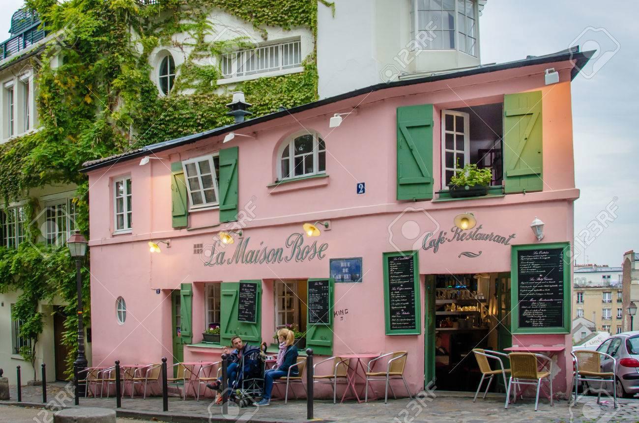 La Maison Rose Restaurant in Paris