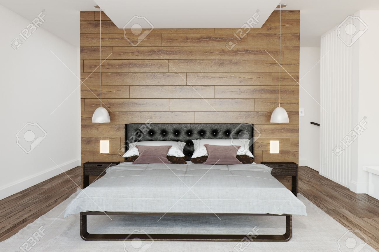 Chambre A Coucher Moderne En Bois Massif. Moveis Par Quarto Table ...