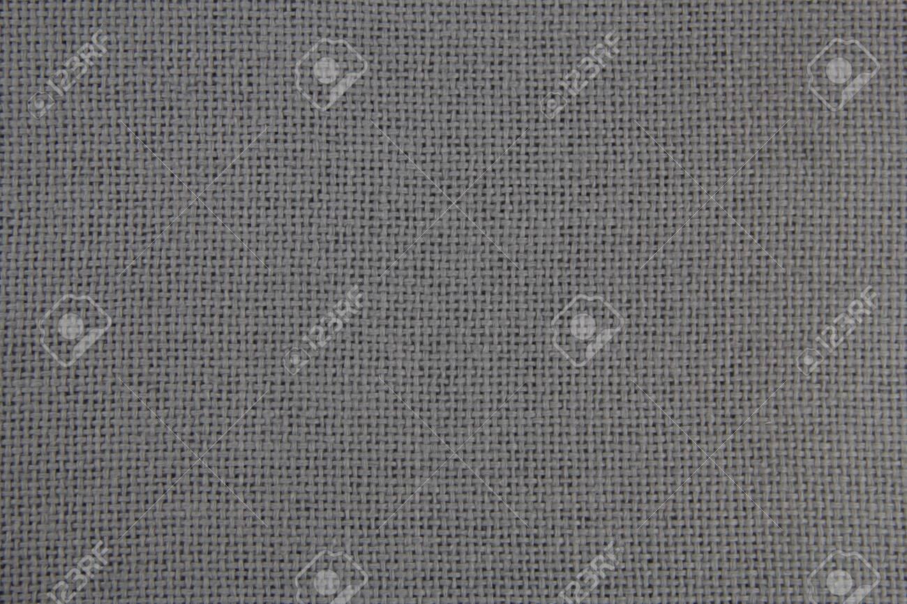 Fabric texture close-up. Grey cloth. Natural fabric. - 135041120